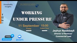 Working Under Pressure | Nijat Aliev