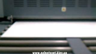 видео печать на пвх в Киеве