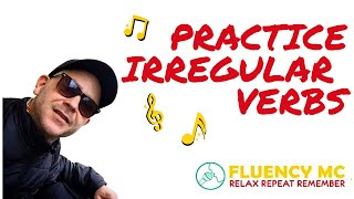 StickStuckStuck INSTRUMENTAL English ESL Irregular Verb Grammar Rap Song with Fluency MC!