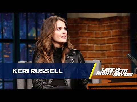 Keri Russell's Partner Chose His Prosthetic Penis