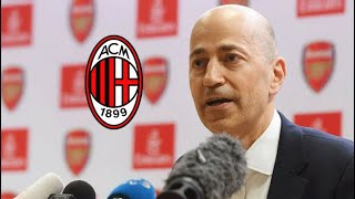 BREAKING NEWS !!! | Ivan Gazidas Will Leave Arsenal To Join AC Milan | 2 Down, 2 To Go