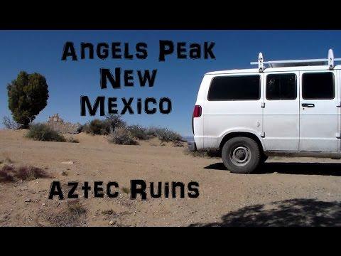 Aztec Ruins Living in a Van New Mexico