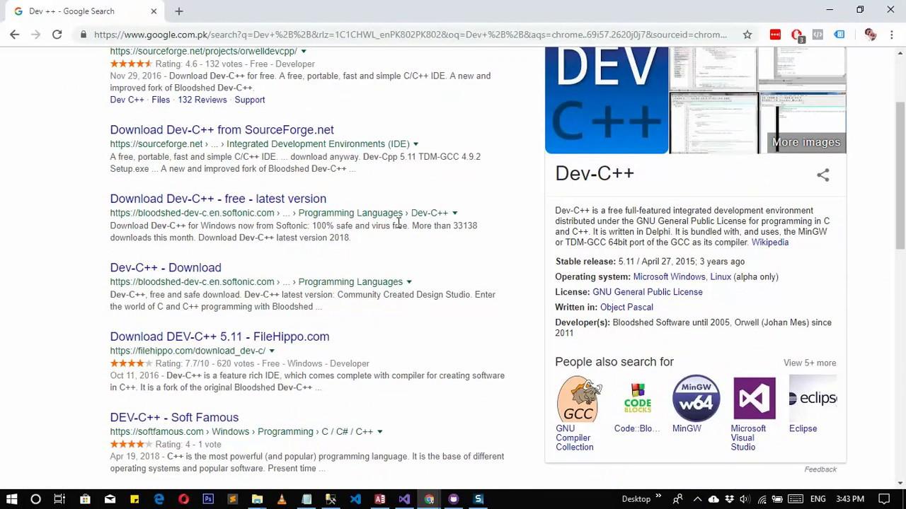 Windows Programming Languages