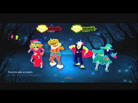 just dance 3 danny elfman this is halloween - Just Dance 3 Halloween