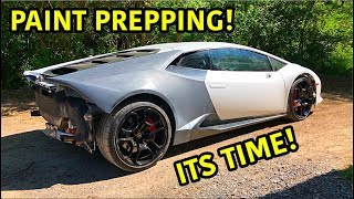 Check this out!!! Everyday we are getting closer and closer to the finished product of this salvaged Lamborghini Huracan! With all of the body panels going on, ...