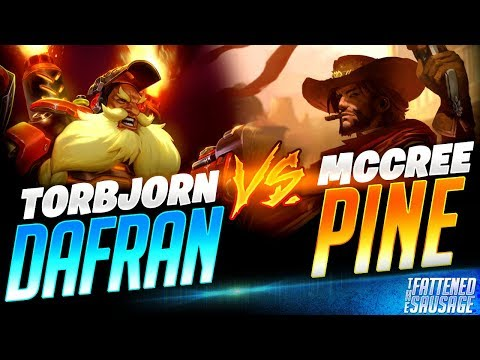 𝘿𝘼𝙁𝙍𝘼𝙉 𝙫𝙨 𝙋𝙄𝙉𝙀! Dafran Plays 𝗧𝗢𝗥𝗕 Against Pine's GODLY MCCREE! | Overwatch thumbnail