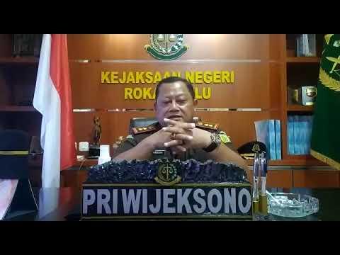 Ucapan Selamat Ulang Tahun Haluan Riau ke-21 dari Kejaksaan Negeri Rokan Hulu