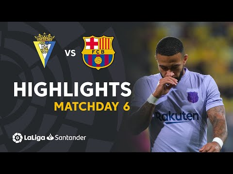 Cadiz Barcelona Goals And Highlights