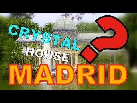 La rosaleda garden ( Rose ) Including Palacio de Cristal (Crystal Palace) - Spain Madrid Travel Vlog
