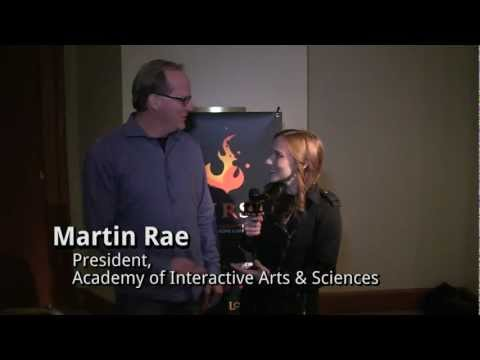 Academy of Interactive Arts and Sciences: Interview with President, Martin Rae
