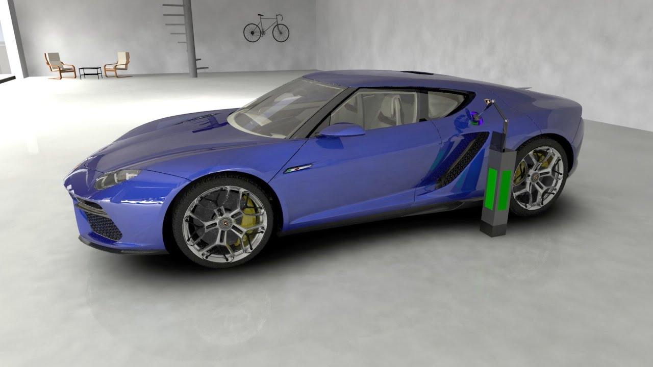 Lamborghini Asterion Lpi 910 4 Hybrid Technology