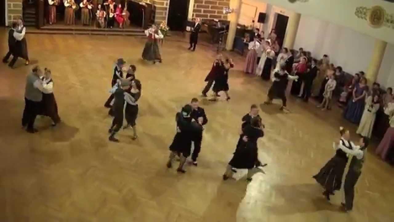 """00701 Folkloras mūzikas un deju kopas DANDARI 35 g. jubilejas """"kadriļu balle"""". Džūkstes kadrilis"""