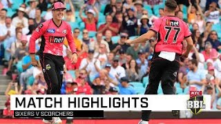 Sixers open season with win over Scorchers | KFC BBL|08