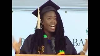 Kadia Tubman 2013 Commencement Speech