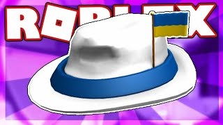 YouTube [FREE ITEM] How to get the INTERNATIONAL FEDORA - UKRAINE | Roblox