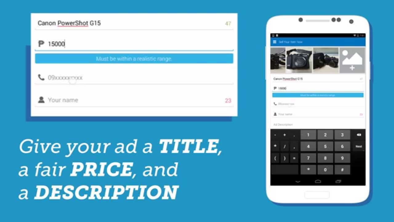 OLX Philippines: How to post an ad using the OLX app