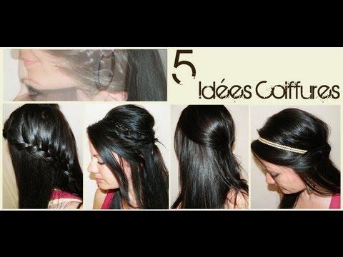 ➳ 5 idées coiffures sur cheveux lachés | L.A Hairstyle ...
