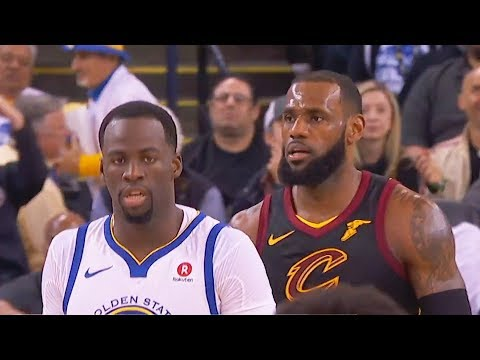Draymond Green SHUTS UP LeBron James for Trolling with Block!!! Cavaliers vs Warriors   Dec 25, 2017