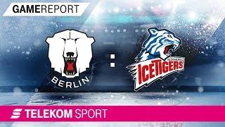 Eisbären berlin - thomas sabo ice tigers   halbfinale, spiel 1, 17/18 telekom sport