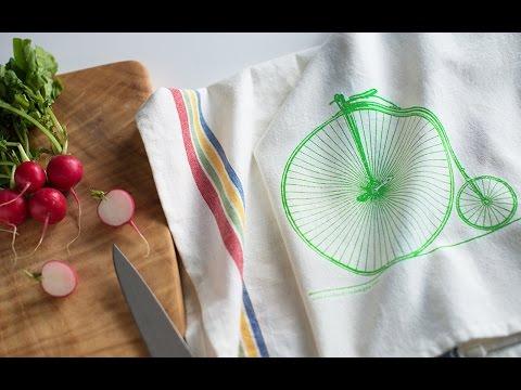 Sunday Drive Designs - Cotton Tea Towels