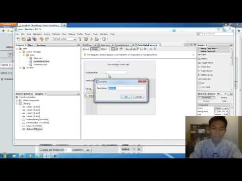 Membuat Aplikasi Gaji Pegawai Dengan Java Netbeans