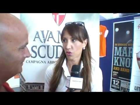 Elisa Penocchio parla della nuova campagna abbonamenti Calcio Padova 2013/14 #AvantiScudati