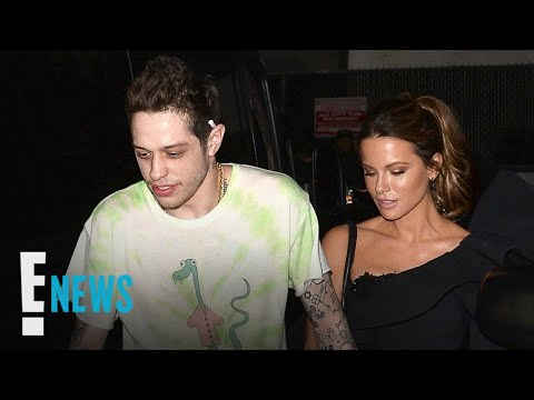 Pete Davidson & Kate Beckinsale Pack on PDA After Movie Premiere | E! News
