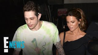Pete Davidson & Kate Beckinsale Pack on PDA After Movie Premiere | E! News thumbnail