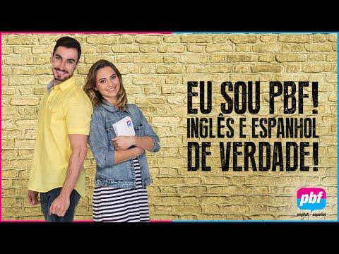 PBF IDIOMAS: INGLÊS E ESPANHOL DE VERDADE!