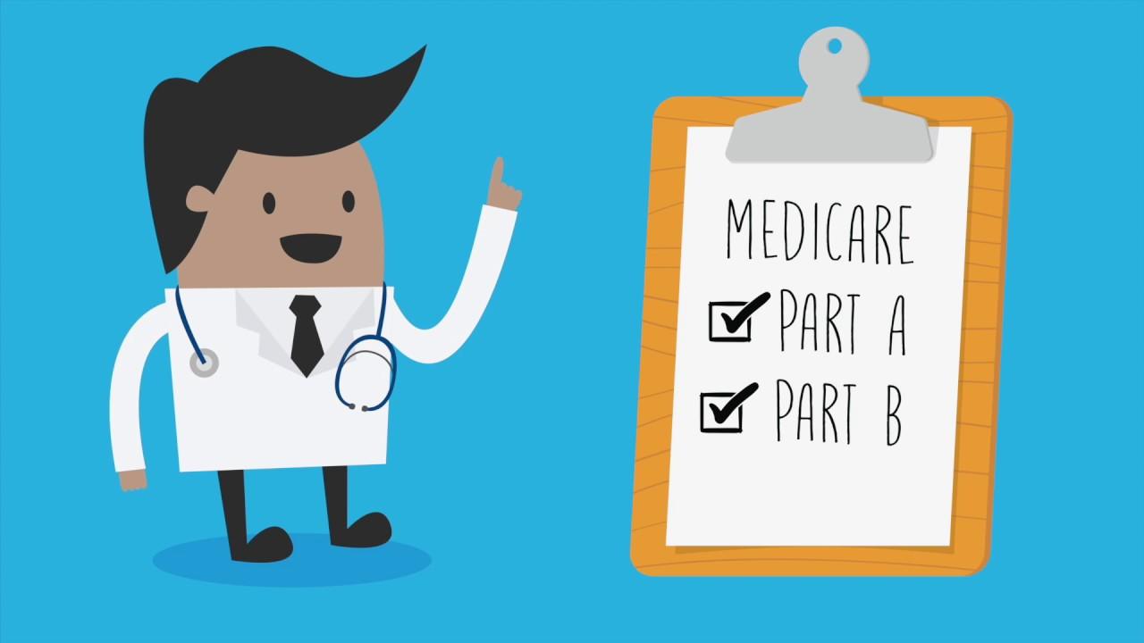 Image result for medicare part a and b illustration