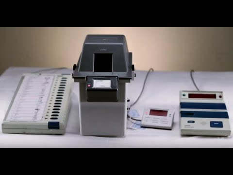 Walking Through the Indian Elections - VVPAT