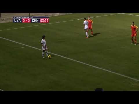 Tricontinental Cup: U-18 U.S. WNT vs. China PR