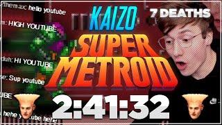 Kaizo Super Metroid Speedrun in 2:41:32 [6 Deaths]