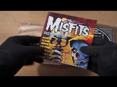 ASMR CD #02 - MISFITS - AMERICAN PSYCHO (no talking, jewel case sounds)