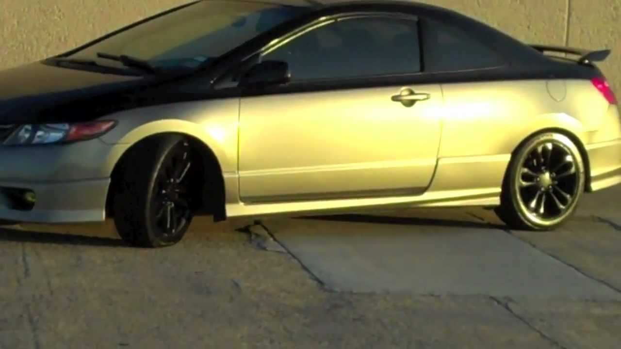 Honda Civic Si 2006 Youtube