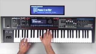 roland juno gi sound examples preset 030 piano x wstr