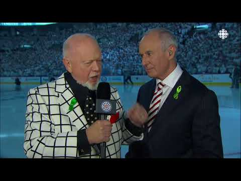 NHL Playoffs Pregame Don Cherry & Ron Maclean Vegas vs Jets May 20th, 2018