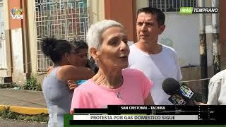 Venezuela - Escasez de gas genera protesta en varias zonas de Táchira - VPItv