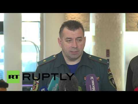 "Russia: Egypt plane crash recovery operations to be ""increased"" - Emergencies Ministry official"