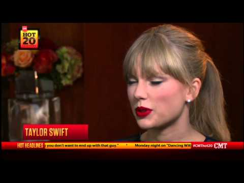 Taylor Swift Interview On Hot 20 Countdown