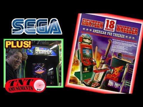 #1279 Sega 18 WHEELER Driver-Centuri PHOENIX-Atari ASTEROIDS Arcade Video GameTNT Amusements