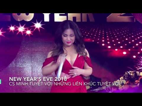 New Year's Eve 2018 With cs Minh Tuyết Thật nóng bỏng