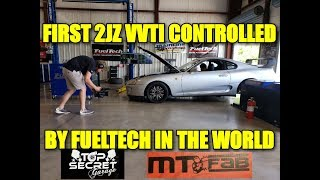 FIRST 2JZ VVTI CONTROLLED BY FUELTECH IN THE WORLD