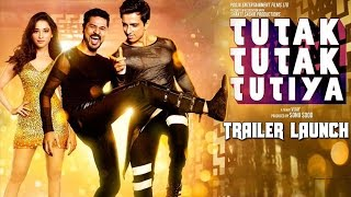Tutak Tutak Tutiya Official Trailer Launch | Tamannaah, Prabhudeva, Sonu Sood