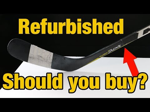 Should you buy a repaired hockey stick ? Hockey Repair Shop review