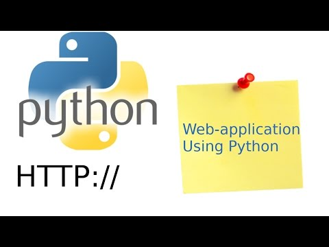 Creating a web-application in Python [PART 1]