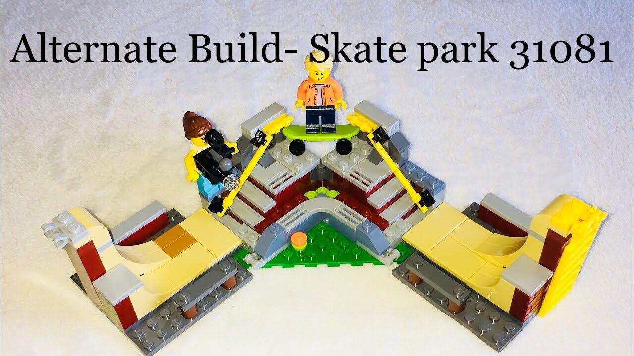 Lego Creator 3 in 1 Modular Skate House-Alternate Build  Skate park review   Set 31081