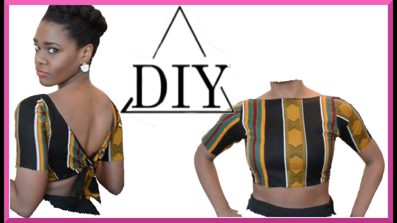 c6d1bdc0e5e DIY tie back crop top