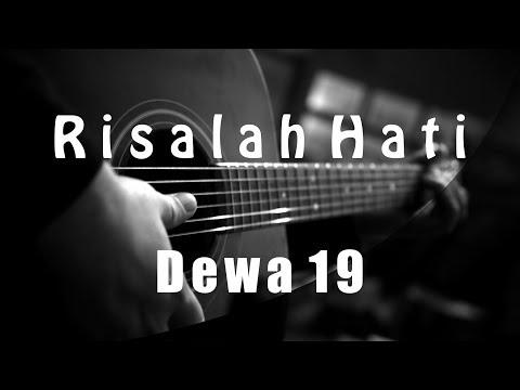 Risalah Hati - Dewa 19 | Fourtwnty Version | ( Acoustic Karaoke )