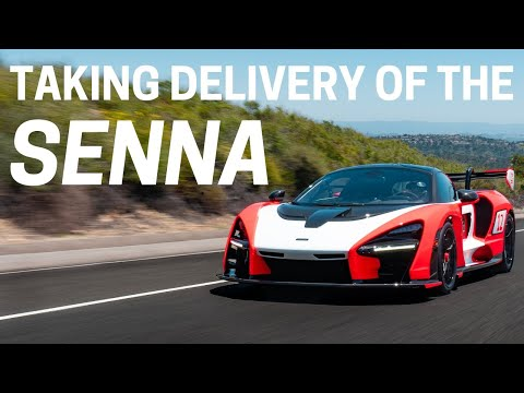 Taking Delivery of the McLaren Senna!